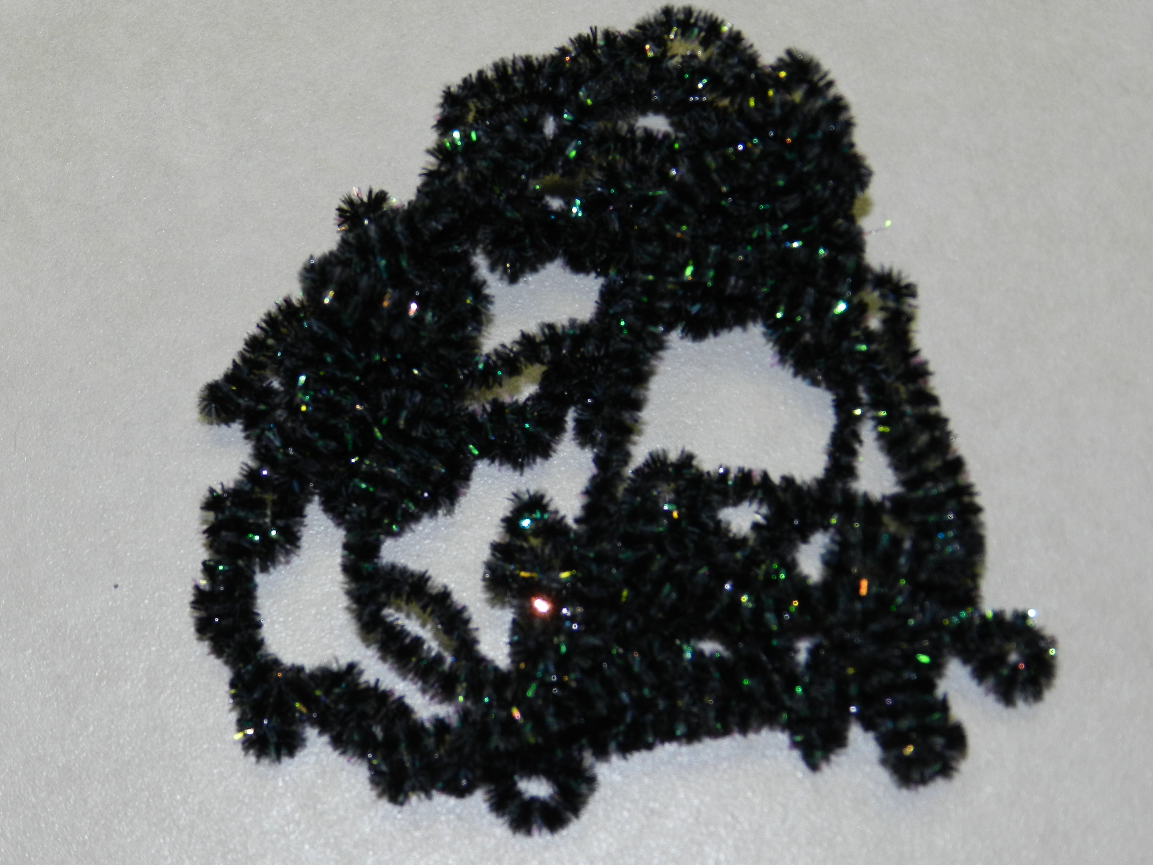 5 YARDS DARK CHOCOLATE NEW AGE CRYSTAL CHENILLE for FLY and JIG TYING